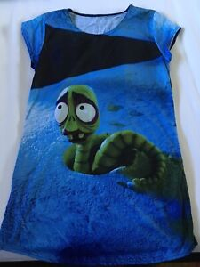BLACK MILK THE WORM TEE SIZE SMALL