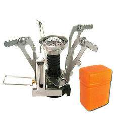 Camping Hiking Portable Foldable Gas Burner Steel Stove Camping Outdoor Picnic
