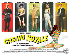 CASINO ROYALE LOBBY SCENE CARD # 9 POSTER 1967 JAMES BOND SPOOF DAVID NIVEN
