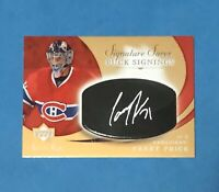 2007-08 UPPER DECK SWEET SHOTS CAREY PRICE ROOKIE AUTO MONTREAL CANADIENS