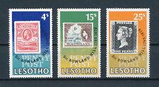 Lesotho  274-6 MNH, Rowland Hill, 1979