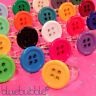 FUNKY 15mm BUTTON RING CUTE KITSCH RETRO KAWAII POP SEWING EMO SWEET VINTAGE FUN