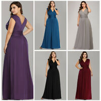 Ever-Pretty US Plus Formal Evening Gowns Cocktail Mother Of Bride Party Dresses