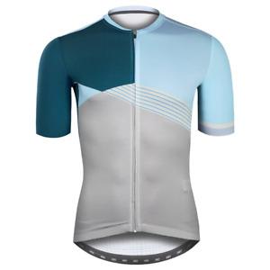 Baisky Cycling Jersey Bike Tops-Movement Design-Montage Blue(T2378B)