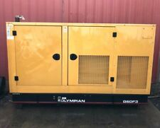Olympian G60F3 60KW Natural Gas Generator 208/120V 3-Phase 546 Hours