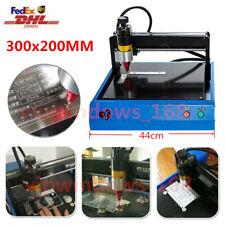 Industry Dot Peen Name Plate Metal Tag Label Engraving Marking Machine 300200mm