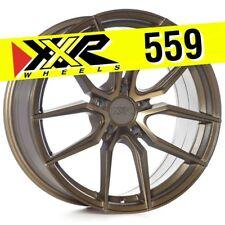 XXR 559 18x8.5 5-114.3 +20 Bronze Wheels (Set of 4) Fits Mitsubishi Lancer EVO