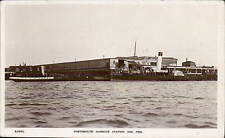 Portsmouth Harbour Station & Pier # S 5052 by WHS Kingsway. Paddle Steamer.