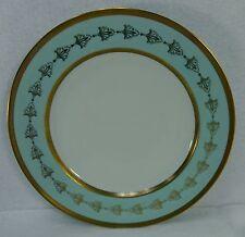 "ROYAL TETTAU china EMPRESS china Dinner Plate - 9-7/8"" Gold Fleur De Lis"