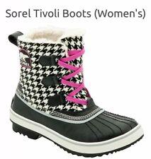 SOREL Tivoli Houndstooth Boots 12M