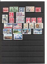 N°558 - USA - ( Poste Aérienne ) ( 1947-2001 ) - 24 timbres oblitérés