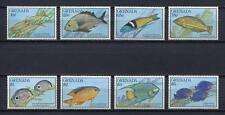 25449) GRENADA 1990 MNH** Nuovi** Fishes Pesci  8v