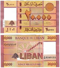 Lebanon 20000 livres 2014 P-93b UNC