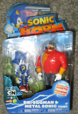 "SONIC BOOM DR.EGGMAN & METAL SONIC FIGURE SET 3""  Sonic The Hedgehog 2-pack RARE"