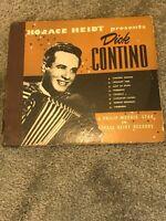 Horace Heidt Presents Dick Contino 4 Record Box Set