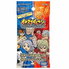 TAKARA TOMY INAZUMA ELEVEN IE-09 TRADING CARD GAME TCG 5CARDS BOOSTER PACK