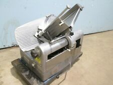 """Hobart 1712"" H.D. Commercial (Nsf) 12"" Blade 1/3Hp 115V Manual Meat Slicer"