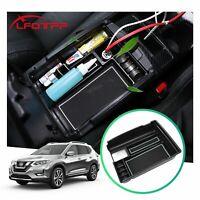 LFOTPP Car Console Storage Organizer Tray Armrest Box For 2019 Nissan X-Trail