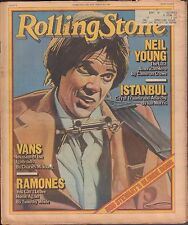 Rolling Stone February 8 1979 Neil Young, Vans, Ramones w/ML 121616DBE