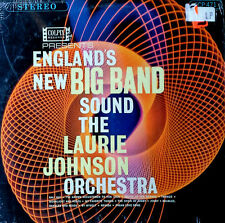 LAURIE JOHNSON ORCHESTRA - ENGLAND'S NEW BIG BAND - COLPIX LP - STEREO PRESSING
