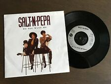 "SALT N PEPA Do You Want Me 7"" 1991 EX+ vinyl 45 single record Hip Hop FFRR F 151"