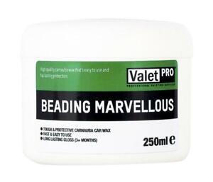 ValetPRO Beading Marvellous Wax 250ml