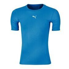 Puma Men's Pb Core Base Layer T-Shirt - Xl - Blue - New