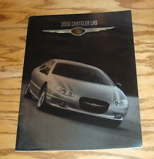 Original 2000 Chrysler LHS Deluxe Sales Brochure 00