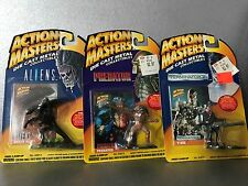 Action Masters Aliens Predator Terminator 2 Lot Of 3 Die Cast Moc 1994