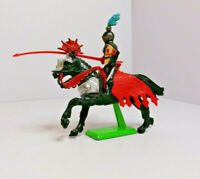 Britains Deetail mounted Knight Vintage Figures Toy Soldiers 1970s Version 5
