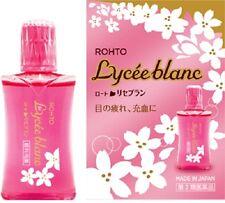 NEW Rohto Lycée Blanc Beauty Rejuvenating Eye Drops 12ml Made in Japan Lycee
