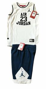 NEW NIKE Air Jordan Jumpman 2PC DRI-FIT Short & Top Sets, Szs 2T,3T,4T,and 5,6,7