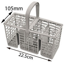 INDESIT Genuine Dishwasher Cutlery Basket Slim 22cm Long Handle DIS361A DISP547