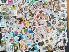 500 verschiedene Briefmarken mit Katzen , Katze  Hauskatzen  kitten cats  gato