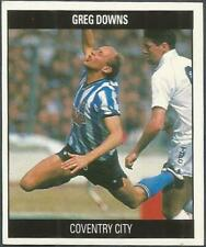 ORBIS 1990 FOOTBALL COLLECTION-#F035-COVENTRY CITY-GREG DOWNS
