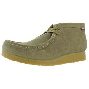 Clarks Mens Stinson Hi Taupe Suede Ankle Boots Shoes 7.5 Medium (D) BHFO 0872