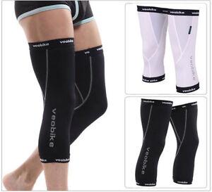 Outdoor Cycling Knee Warmers Running Leg Kneelet Sun Protection kneecap