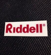 "Custom Nfl Riddell Helmet Decal Thin Mill 1"" 7/8 X 3/4"