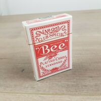 Bee No 92 Club Special - Playing Cards Red