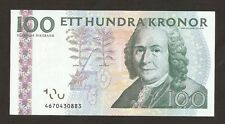 2008 Sweden  100 Kronor P65  Uncirculated !!!