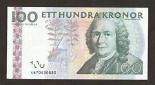 2008 Svezia 100 CORONE P65 eccezionali!!!