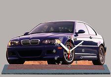 voiture en horloge miniature, BMW M3-e46-04