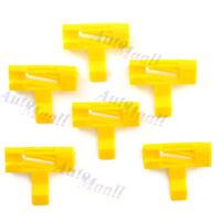 6pcs Windshield Moulding Side Trim Clips For Volvo S60 XC70 V70 30678009 9484524