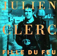 """Julien Clerc 12"""" Fille Du Feu - France (VG+/VG+)"""
