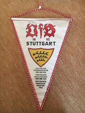 VfB Stuttgart  Deutscher Meister Pokalmeister  Wimpel  Alt+Selten!!!