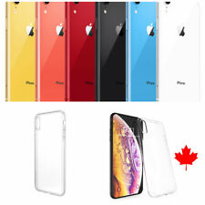 "For iPhone XR Case (6.1"")- Superior Clear Soft TPU Gel Case - Best Quality"