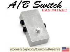 CR® AB A / B FOOTSWITCH SWITCH PEDAL FOR ELECTRIC GUITAR HANDWIRED USA BRAND NEW