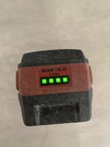 hilti battery 5.2 36v