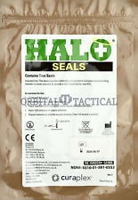 Halo Chest Seals (2 Per Package) Military EMS Medic Supply EXP. 2020