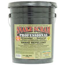 Snake Repellent 22 Lbs Natural Organic Rtu Snake Repellent Snake Scram Pro